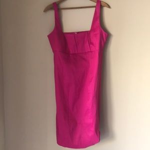 Calvin Klein Fusia Midi Dress ~ SIZE 10